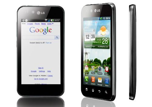 Spesifikasi LG Optimus Black