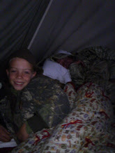 Hayden Camping with Cody and james