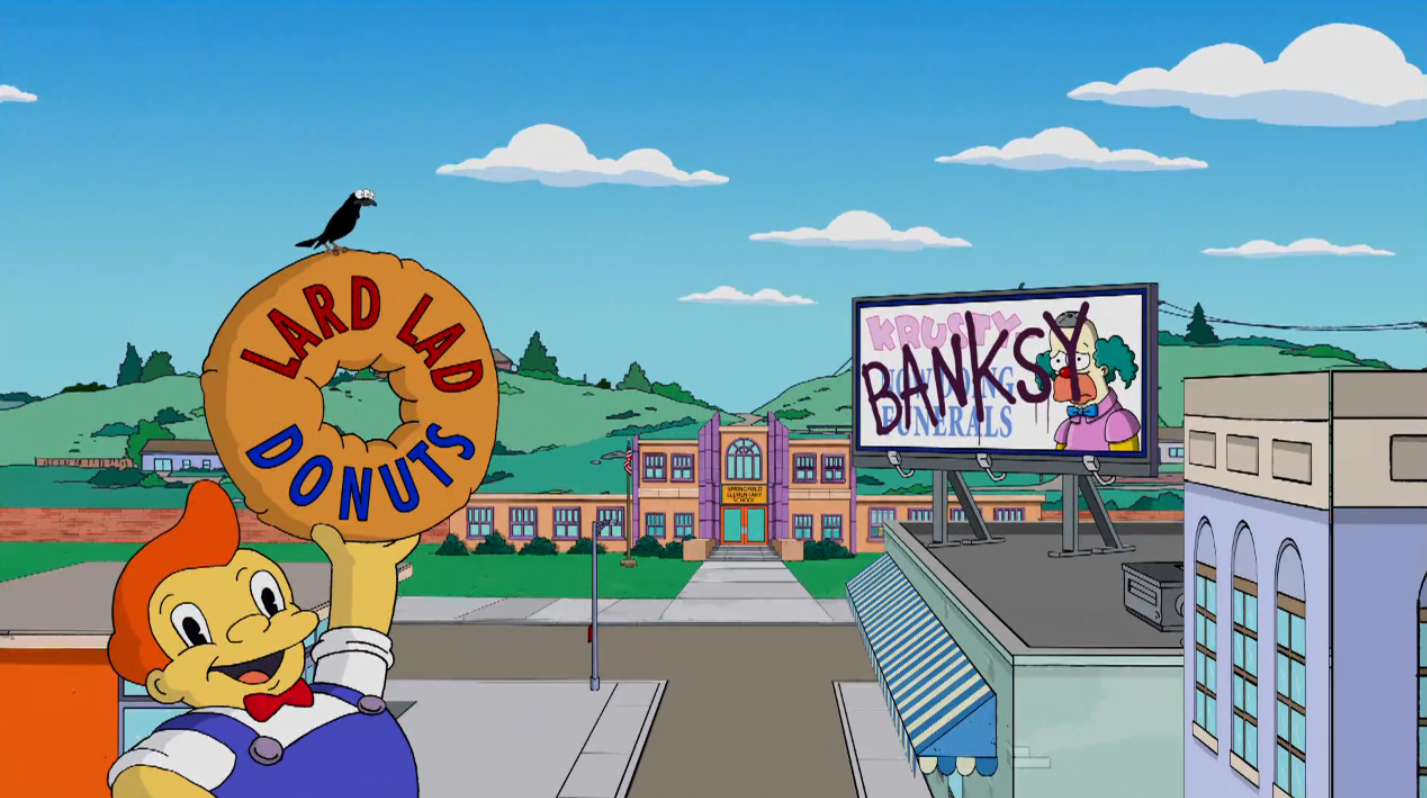 Banksy's Simpsons Intro: Exposé or Self-Promotion?