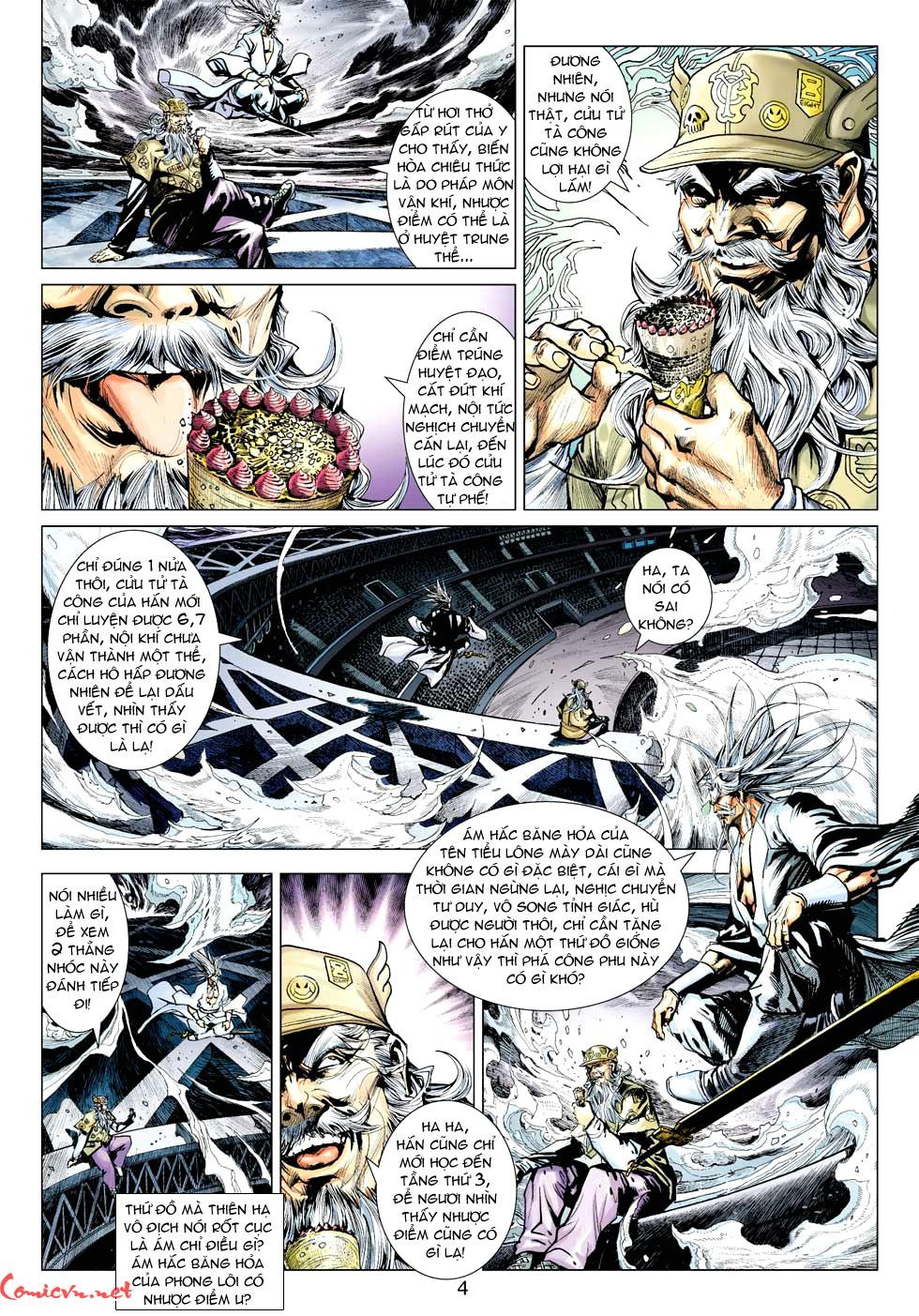 Vương Phong Lôi 1 chap 32 - Trang 4