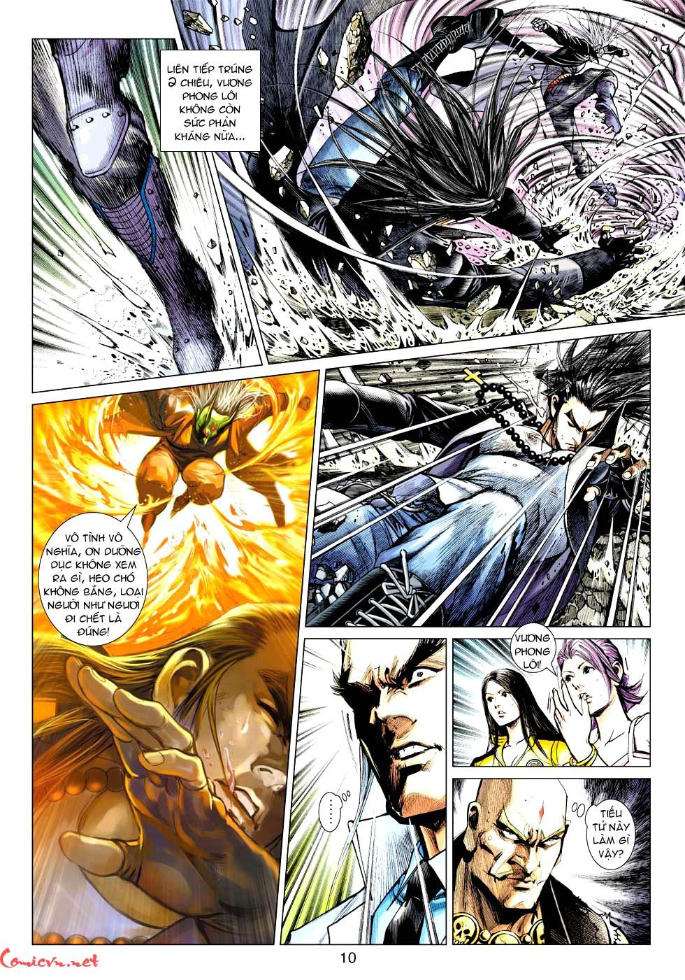Vương Phong Lôi 1 chap 32 - Trang 9