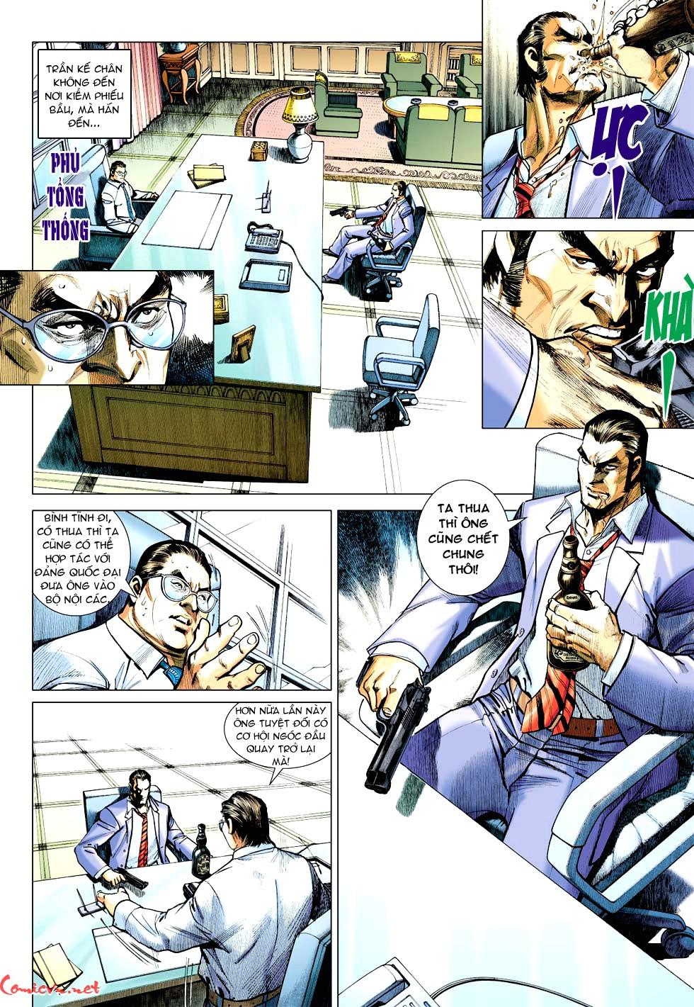 Vương Phong Lôi 1 chap 32 - Trang 23