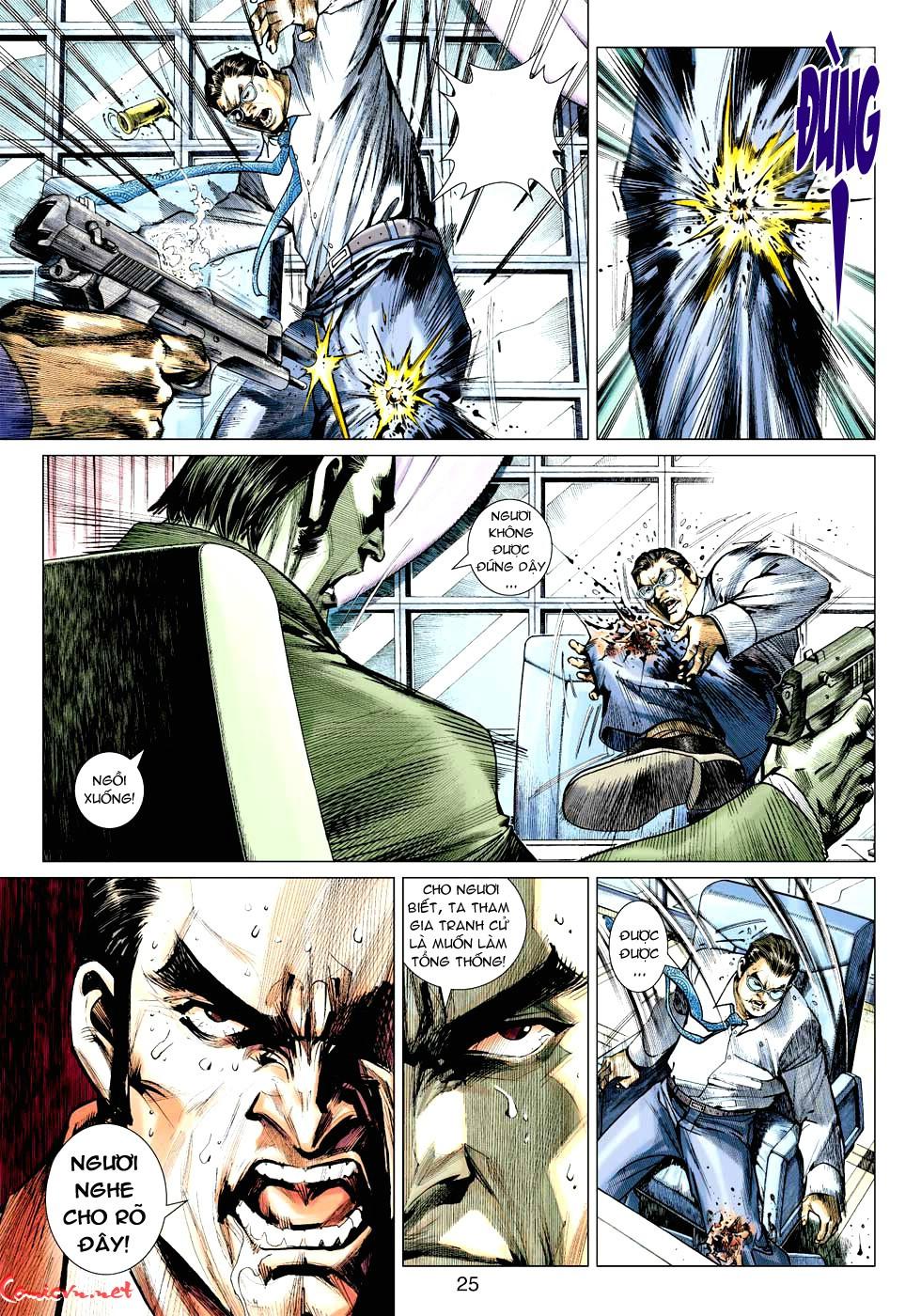 Vương Phong Lôi 1 chap 32 - Trang 24