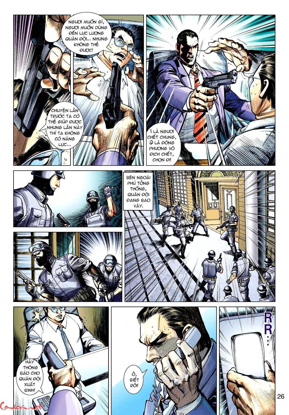 Vương Phong Lôi 1 chap 32 - Trang 25