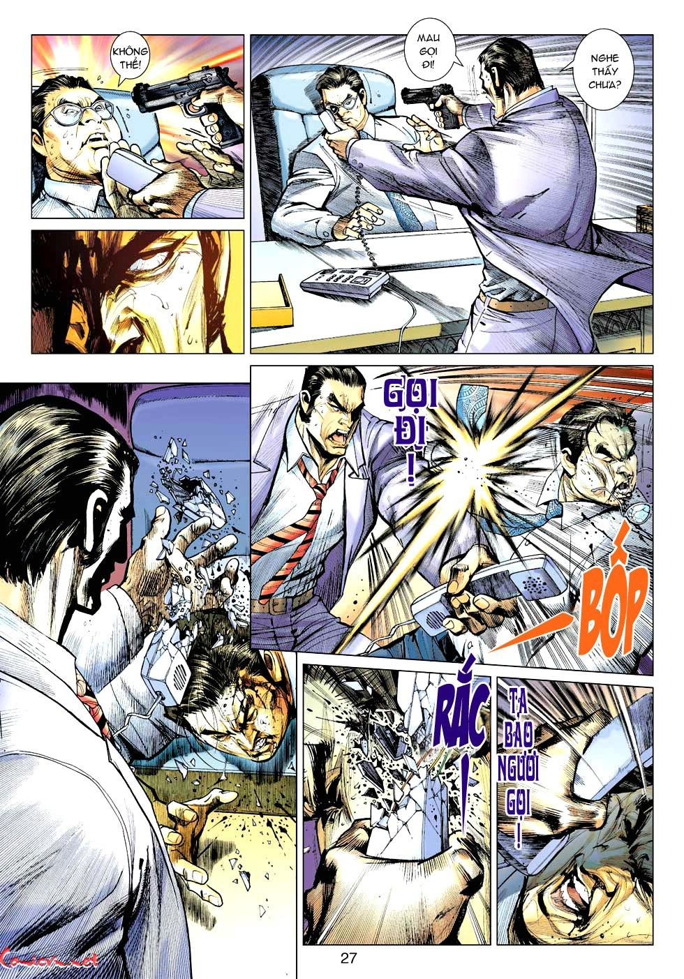 Vương Phong Lôi 1 chap 32 - Trang 26