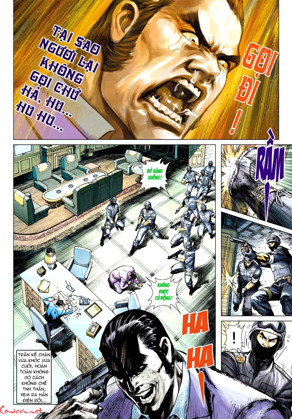 Vương Phong Lôi 1 chap 32 - Trang 27