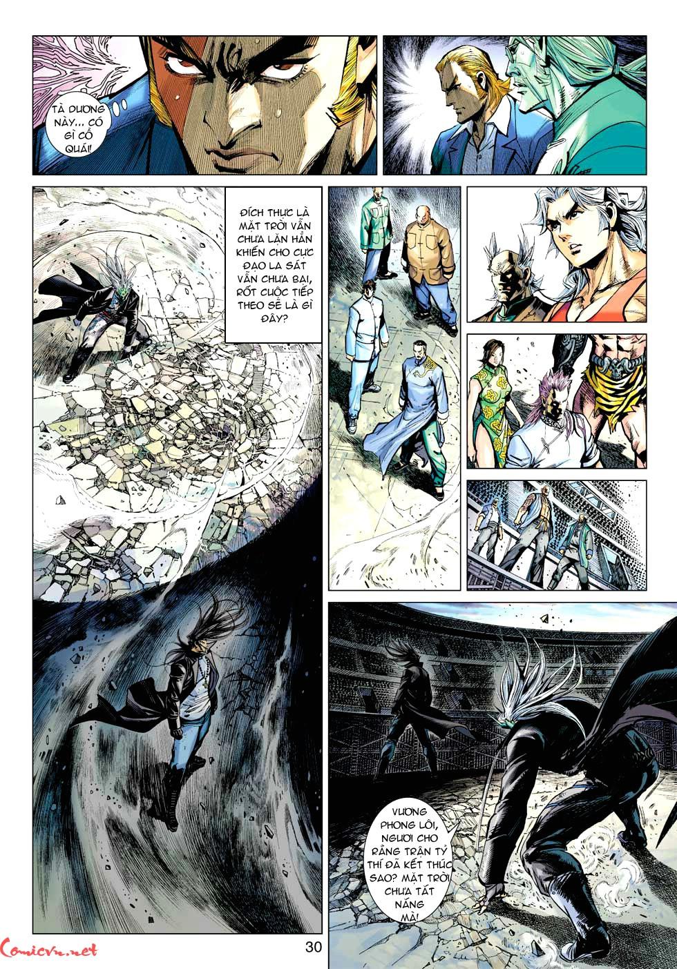 Vương Phong Lôi 1 chap 32 - Trang 29