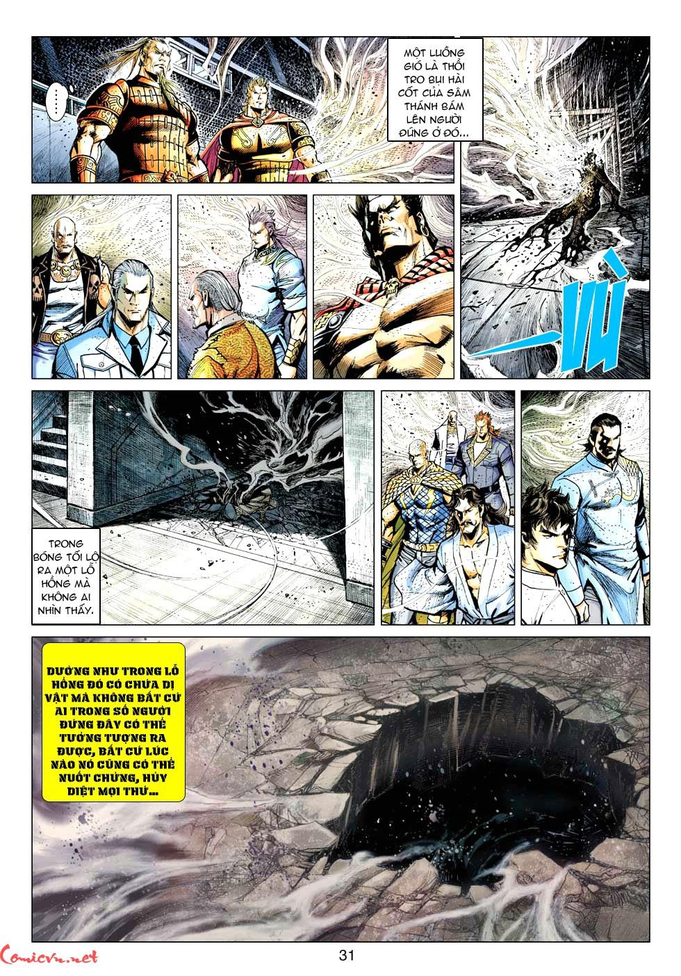Vương Phong Lôi 1 chap 32 - Trang 30