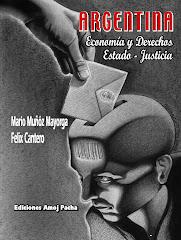 """Tapa del libro """"Argentina - Economia y Derechos - Estado - Justicia"""""""