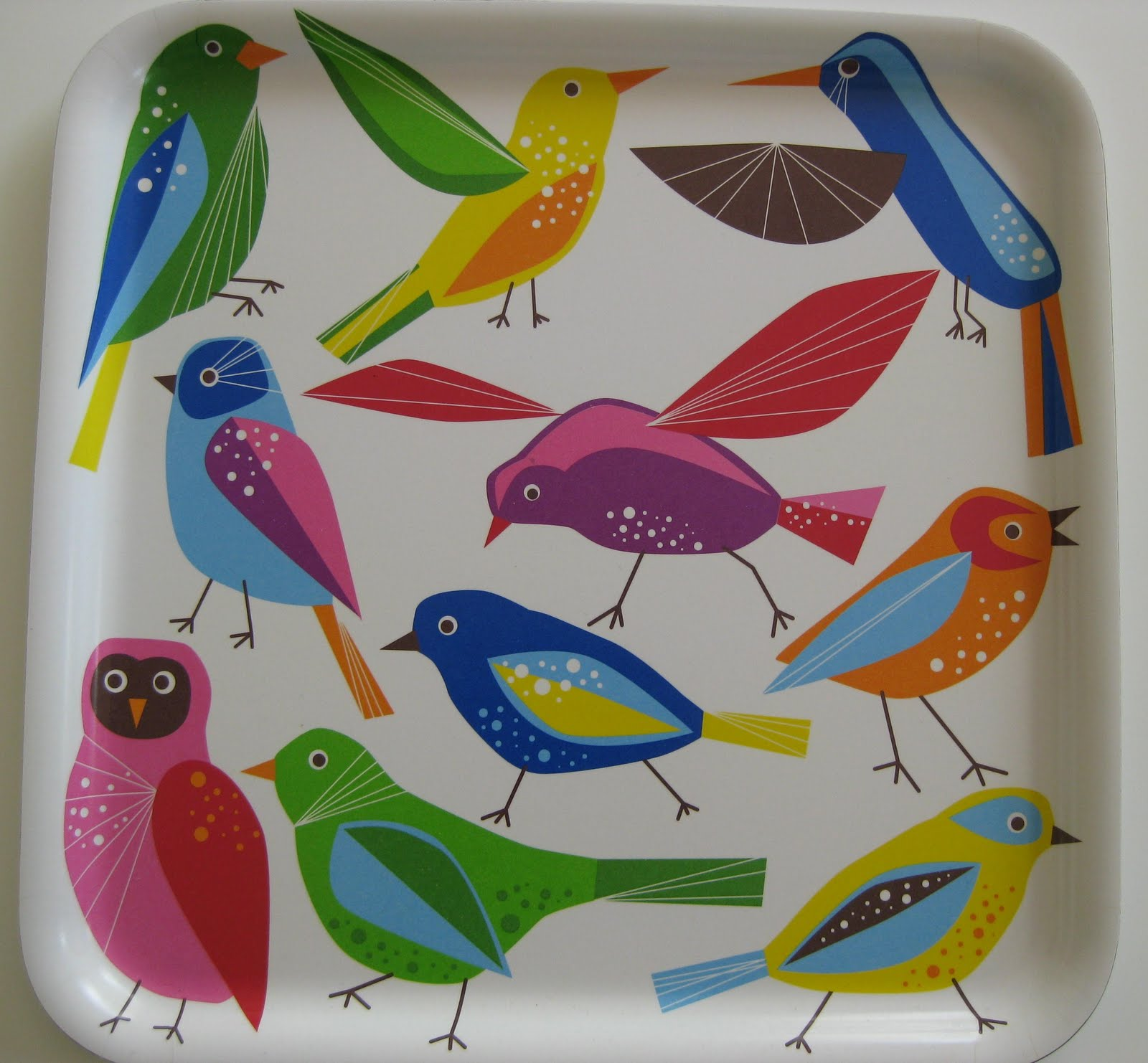 Bright Space: Birds are Everywhere in Interiors