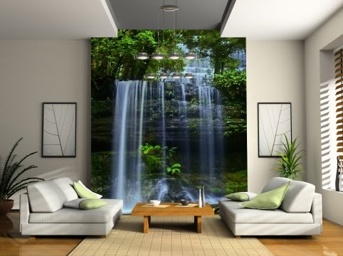 Charmant Do You Fancy A Waterfall In Your Living Room? This Mural By Photowall  Certainly Creates A Cool, Lasting Impression.