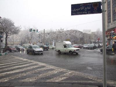 Schnee überall