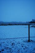 Snön ligger vit tidigt en November morgon!