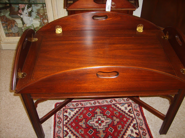 Serendipity Lane Upscale Furniture Consignment Henkell Harris Butler Table