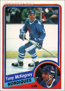 Career in Cards: Tony McKegney