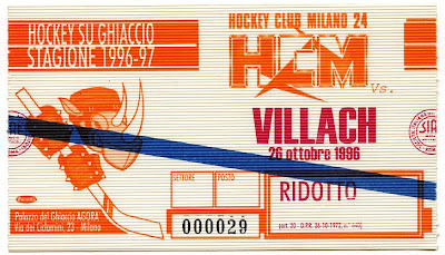 Italian Ticket Stub