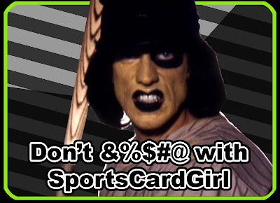 Sports Card Girl Strikes Back