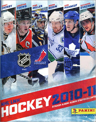 Free Panini Hockey Sticker Book