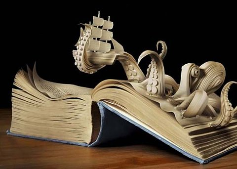 Books come alive, if you'll just let them.!