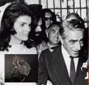 Jacqueline Kennedy Onassis's 40-carat diamond ring