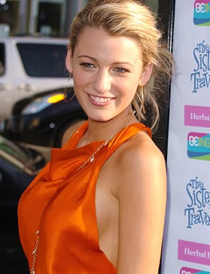 Actress Blake Lively on Beauties Girls  Blake Lively   American Actress