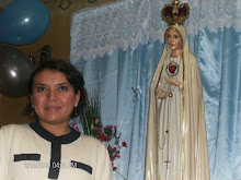 Thelmita y la virgen de Fatima