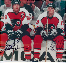 Lindros and LeClair