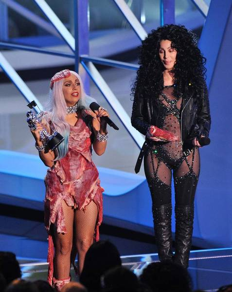 Lady Gaga Meat Outfit At Vma. FASHION FIX: LADY GAGA'S VMA