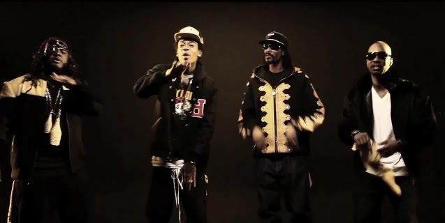 "The official remix is called ""Black and Yellow (G-Mix)"" and features Snoop"