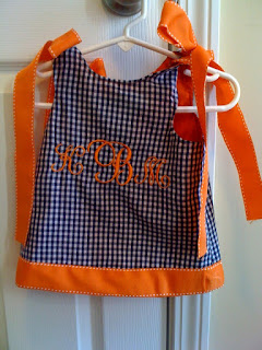 Reversible Auburn Dress with