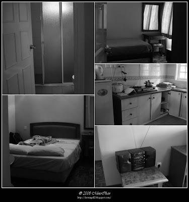 3 bedrooms, 2 bathrooms, a kitchen, a TV, a radio, sofa set & mahogany dining table
