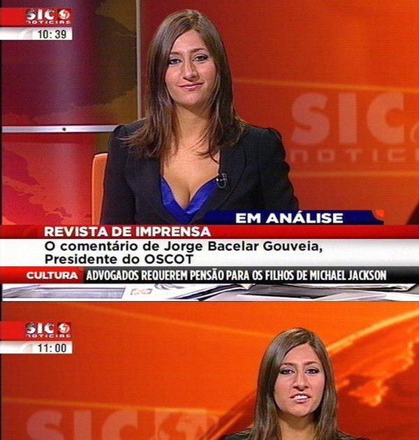 Sic Noticias: Os Velhotes Dos Marretas: Sic Notícias Anti-Decote