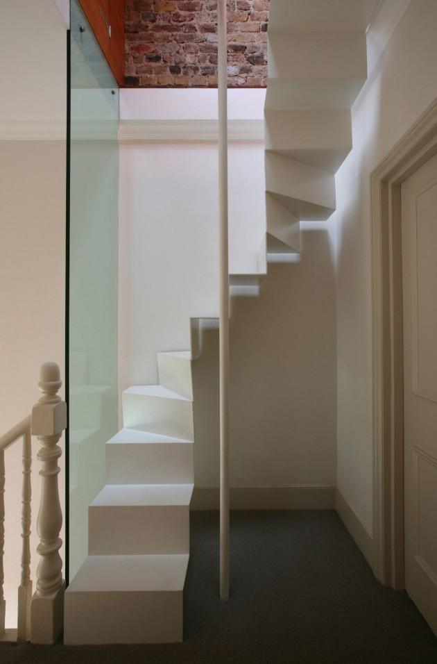 A minha alegre casinha escada para sot o for Escaleras para lugares pequenos