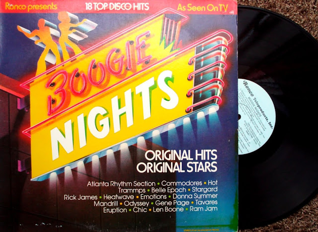 Ronco Presents Boogie Nights ~ 18 Top Disco Hits - Various on Ronco Teleproducts 1978