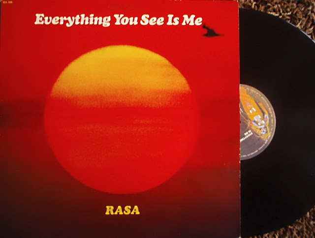 RASA - Everything Yo See Is Me on Govinda Records 1978