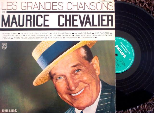 Maurice Chevalier avec Michel Legrand et son Ensemble Г l'Alhambra - Les Grandes Chansons on Philips 1957