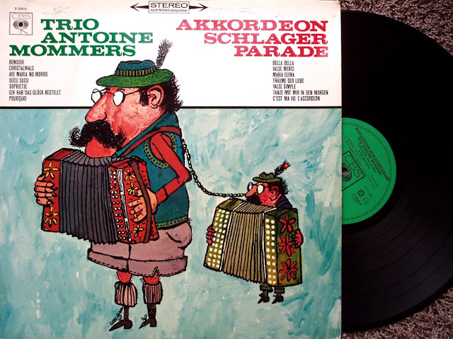 Trio Antoine Mommers - Akkordeon Schlagerparade on CBS 1967