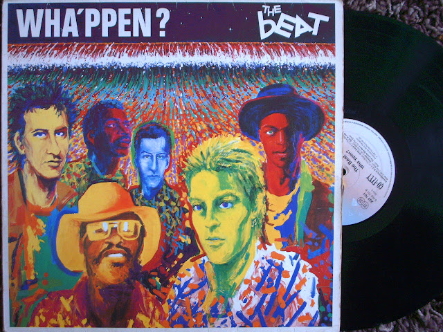 The Beat - Wha'ppen ?  on  Go-Feet Records 1981