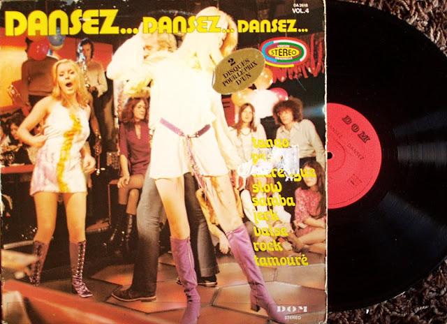 Les Orchestres de Nino De La Vega,Ruis De La Vega,Fabio Favelli & Juan Ibanez - Dansez...Dansez...Dansez...Volume 4 on DOM (Double LP) 1976