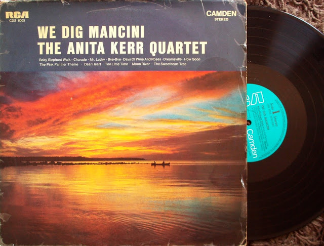 The Anita Kerr Quartet - We Dig Mancini on RCA Camden 1965