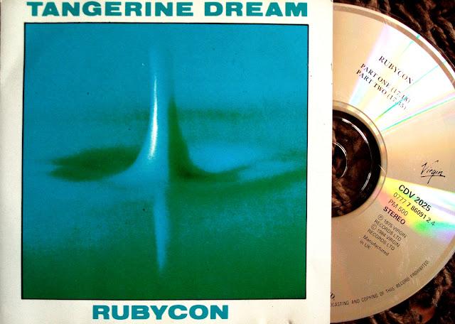 Tangerine Dream - Rubycon on Virgin 1974 / 1985