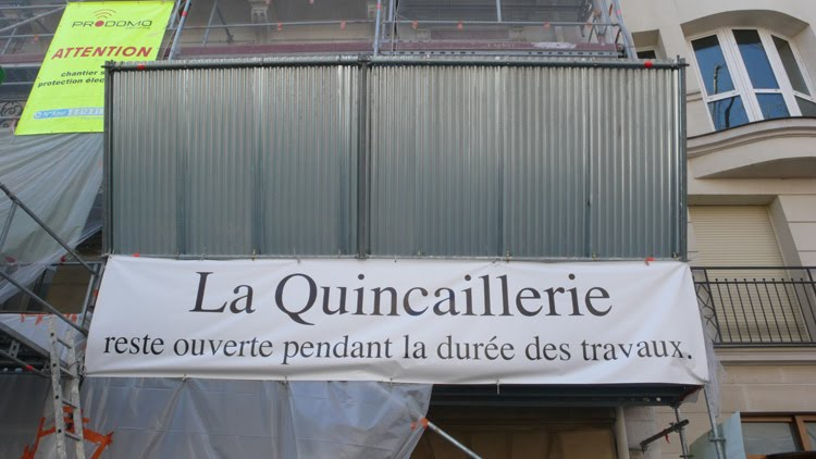la quincaillerie en travaux la quincaillerie paris au quartier latin. Black Bedroom Furniture Sets. Home Design Ideas
