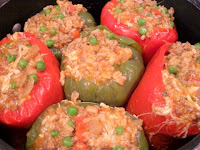 Stove Top Stuffed Peppers