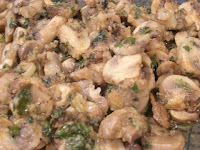Unstuffed Mushrooms