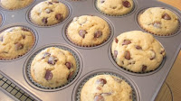 Milk Chocolate Chip Muffins