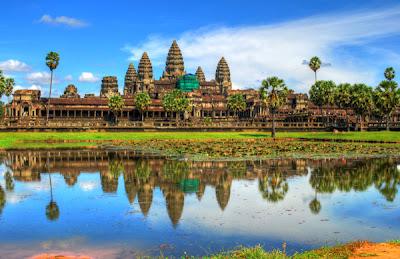 Angkor Wat Cambodia photography by hahli9