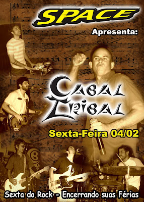 Show com a banda CABAL TRIBAL no Space