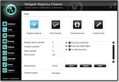 NETGATE Registry Cleaner 1.0.905 - software gratis, serial number, crack, key, terlengkap