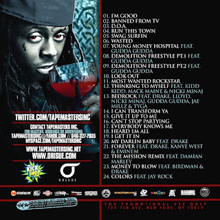 Tapemasters Inc & Lil' Wayne - Young Rich  Dangerous