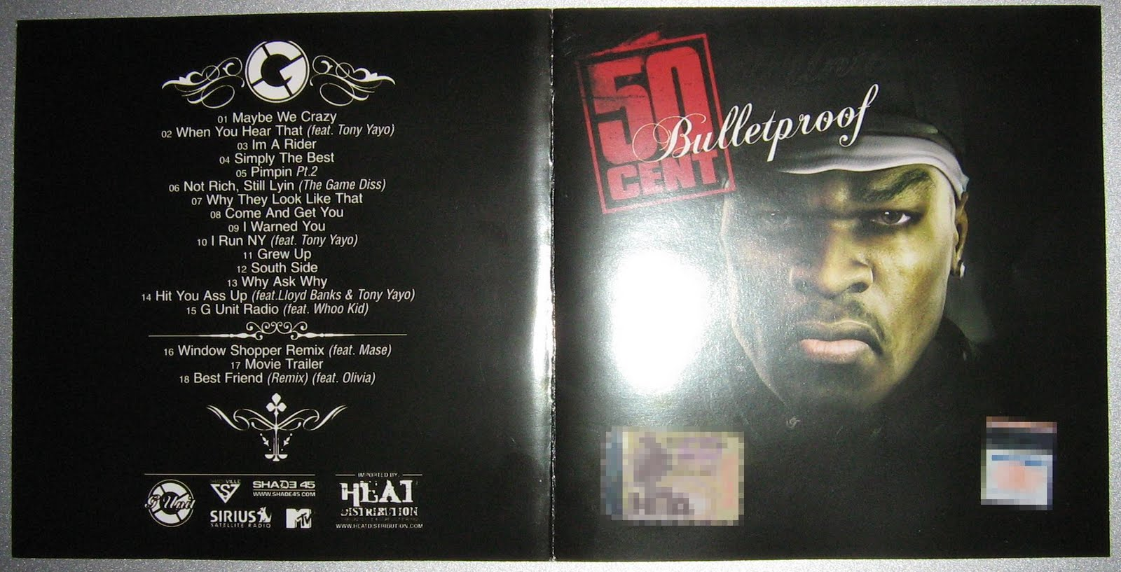 "50 Cent - Hail Mary 12"" (white Label)"